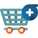 online store, Shopping Store, Commerce And Shopping, commerce, shopping cart, Supermarket Black icon