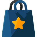 Business, commerce, Shopper, Commerce And Shopping, shopping, Bag, shopping bag, Supermarket DarkSlateGray icon