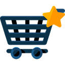 Shopping Store, Commerce And Shopping, commerce, shopping cart, Supermarket, online store DarkSlateGray icon