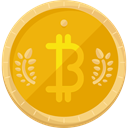 Business, Money, coin, Cash, Currency, Bitcoin, Business And Finance, Commerce And Shopping Orange icon