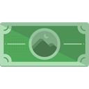 Notes, Business, Money, Cash, Currency, Business And Finance Black icon