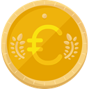 Euro, Business, Money, commerce, Currency, exchange, Trading, Business And Finance, Commerce And Shopping Orange icon