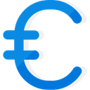Trading, Business And Finance, Commerce And Shopping, Euro, Business, Money, commerce, Currency, exchange DodgerBlue icon