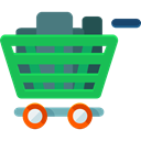 Commerce And Shopping, commerce, shopping cart, Supermarket, online store, Shopping Store LimeGreen icon