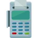 Business, commerce, pay, Credit card, Debit card, payment method, Point Of Service, Commerce And Shopping DarkGray icon
