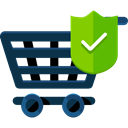 shopping cart, Supermarket, online store, Shopping Store, Commerce And Shopping, commerce DarkSlateGray icon