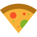 Pizza, Fast food, junk food, Pizzas, Italian Food, Unhealthy, Food And Restaurant, food Goldenrod icon