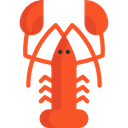 Animal, food, Animals, lobster, Sea Life, Food And Restaurant Tomato icon