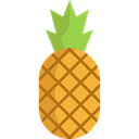 food, Fruit, organic, fruits, natural, Foods, pineapple, Healthy Food, Food And Restaurant Black icon
