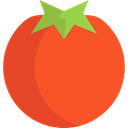 Food And Restaurant, Tomato, vegetarian, vegan, Healthy Food, food, Fruit, organic, diet Tomato icon