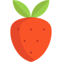 food, Fruit, strawberry, organic, diet, vegetarian, vegan, Healthy Food, Food And Restaurant Tomato icon