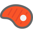 meat, steak, Barbecue, grilled, Proteins, Food And Restaurant, food Tomato icon
