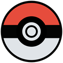 film, movie, Game, play, Go, pokemon, cinema Gainsboro icon