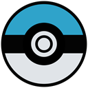 Go, pokemon, cinema, film, movie, Game, play Gainsboro icon
