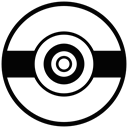 Go, pokemon, movie, Game, play, cinema, film Black icon