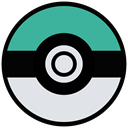 cinema, film, movie, Game, play, Go, pokemon Gainsboro icon