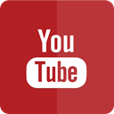 youtube, tube, you, Icon, material design Brown icon