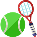 sport, tennis, sports, tennis ball, Sports Ball, Sports And Competition LimeGreen icon
