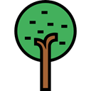 Tree, nature, garden, gardening, ecology, yard, Botanical, Fruit Tree, Ecology And Environment Black icon