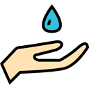 miscellaneous, weather, Rain, drop, Teardrop, raindrop, Ecology And Environment, water, nature Black icon