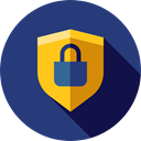 secure, security, Antivirus, shield, defense DarkSlateBlue icon