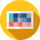 image, picture, pixelated, graphic design, Edit Tools Gold icon