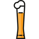 Pint Of Beer, Food And Restaurant, beer, pub, Alcoholic Drink, Alcohol Black icon