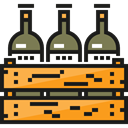 Bar, Alcohol, Alcoholic Drinks, Food And Restaurant, food, beer, Bottle, pub Black icon