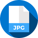 Files And Folders, Format, Archive, jpg, Extension, document, File DodgerBlue icon