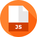 File, Format, Archive, Extension, js, Files And Folders, document Coral icon