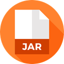 document, File, Format, Archive, Jar, Extension, Files And Folders Coral icon