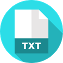 document, Extension, Files And Folders, File, Txt, Format, Archive Turquoise icon