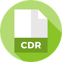 File, Format, Archive, Extension, Files And Folders, document, Cdr DarkKhaki icon