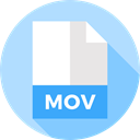 File, Format, Archive, Extension, Mov, Files And Folders, document Icon
