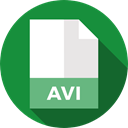 document, File, Format, Archive, Extension, Avi, Files And Folders ForestGreen icon