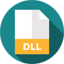 Extension, Dll, Files And Folders, document, File, Format, Archive DarkCyan icon