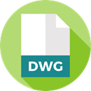 document, File, Files And Folders, Format, Archive, Extension, Dwg DarkKhaki icon