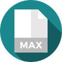document, File, Format, Archive, Extension, max, Files And Folders DarkCyan icon