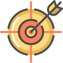 sniper, weapons, Seo And Web, Aim, Target, shooting Black icon