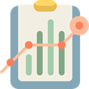 Business, Stats, Analytics, statistics, Bar chart, Profits, Seo And Web Beige icon