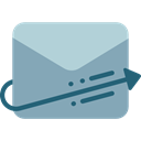Mailing, envelopes, Communications, mail, interface, mails, envelope, Multimedia, Message, Email DarkGray icon