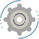 Tools And Utensils, Seo And Web, settings, configuration, cogwheel, Gear DarkGray icon