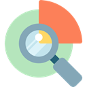 search, magnifying glass, zoom, education, Seo And Web, research, study, Tools And Utensils Silver icon