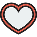 Checked, Shapes And Symbols, Heart, success, interface, tick WhiteSmoke icon