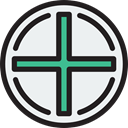 Add, button, plus, mathematics, interface, signs, maths, Shapes And Symbols WhiteSmoke icon