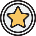 rate, shapes, signs, Shapes And Symbols, star, Favorite, Favourite, interface WhiteSmoke icon