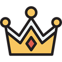 Queen, Royalty, Chess Piece, miscellaneous, king, shapes, crown Black icon
