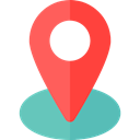 pin, placeholder, signs, map pointer, Maps And Flags, Map Location, Map Point, Maps And Location Tomato icon