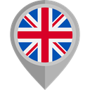 world, flag, Country, Nation, united kingdom, uk, placeholder, flags DarkGray icon