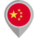 flag, China, placeholder, flags, Country, Nation Icon